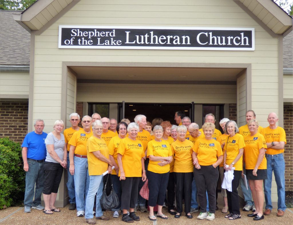 God's Work Our Hands – group photo