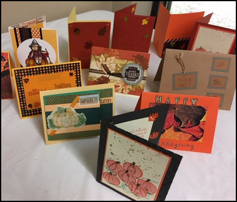 Card Making Ministry samples