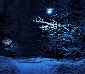 nightscape, winter