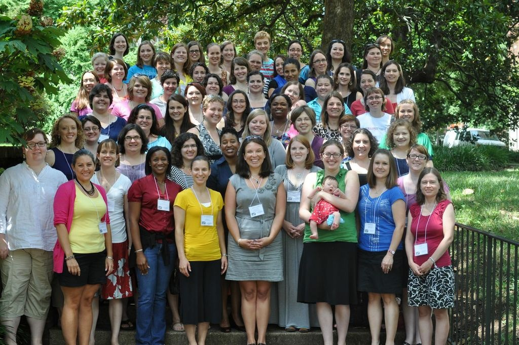 This is what 70-odd young women clergy look like.