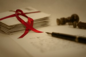 Red Ribbon Letters Feb 2014