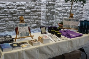 """Who doesn't like a good sale?  The sale table featured extra """"swag"""", TYCWP  """"You're Not the Only One"""" cards, and imprint books."""