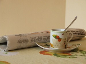 Coffee and the News