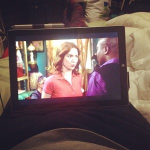 An afternoon of watching Unbreakable Kimmy Schmidt