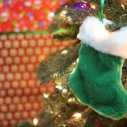 lonely Christmas stocking