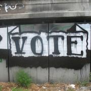 grafitti vote