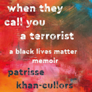 when they call you a terrorist book cover - title, authors names on a colorful background