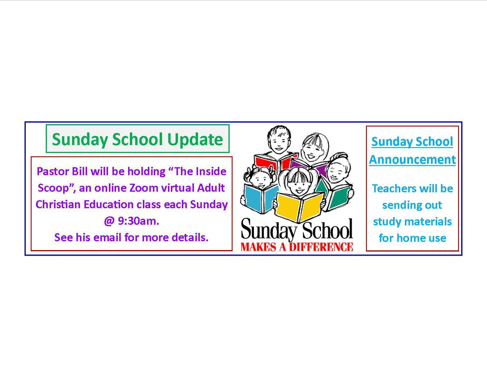 2020 Sunday School Oct