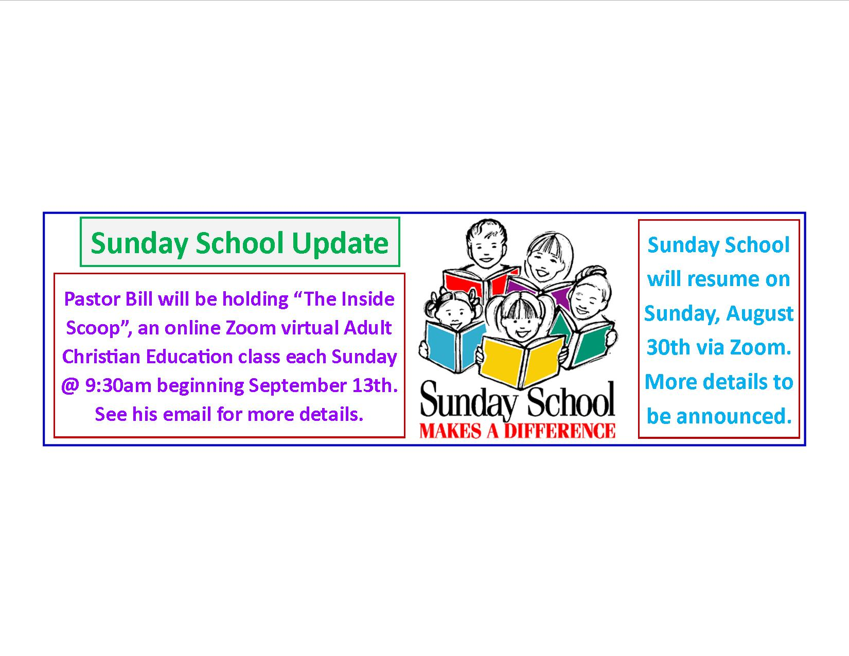2020 Sunday School