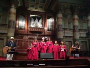 Juveniles Choir with Les Kerr