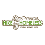 Hike for Homeless logo