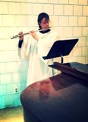 Photo: Joan, flute