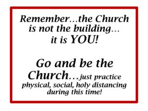 Graphic-Be the Church