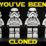 Storm troopers / Clone Troopers in a row