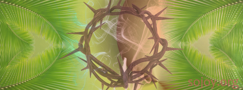 Holy Week, Palms and Crown of Thorns