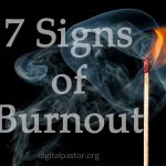 7 signs of burnout