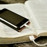Bible plugged in