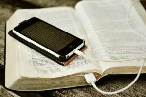Bible plugged in