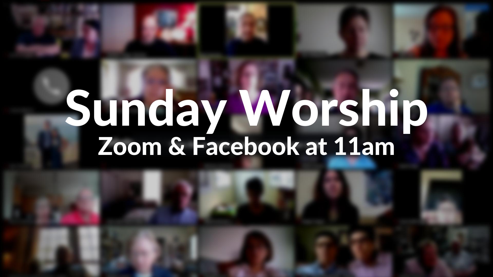 Sunday Zoom Worship